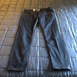 """New WESC blue jeans """"Alessandro"""" size 33"""